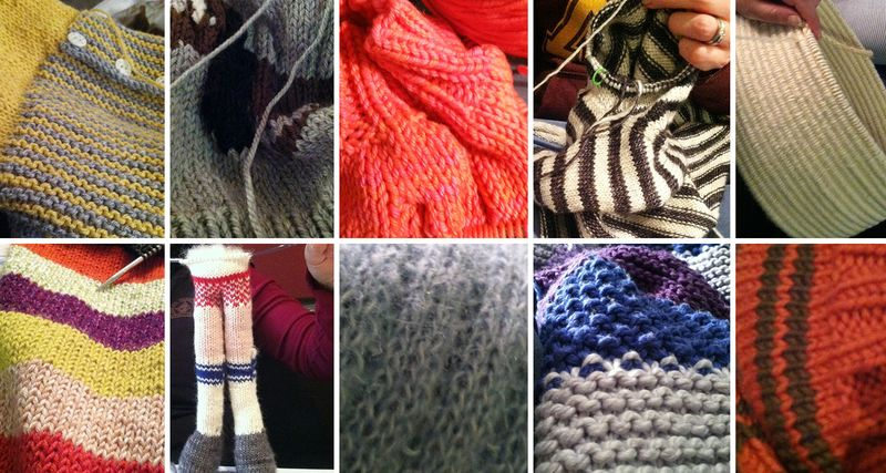Knitcationcollage