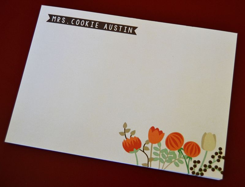 Personal-stationery